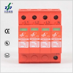 AC 220V 4P CE/TUV/UL Certified Three Phase Surge Protection Device