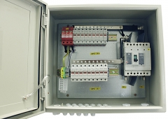 IP65 Solar 9 in 1 out PV Combiner Box