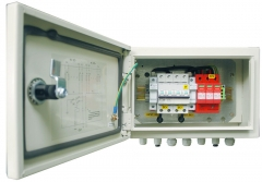 IP65 Solar 1 in 1 out PV Combiner Box