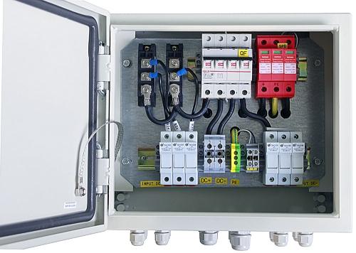 IP65 Solar 3 in 1 out PV Combiner Box