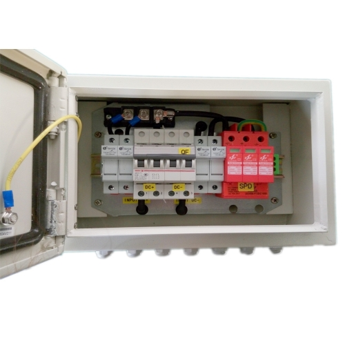 IP65 Solar 2 in 1 out PV Combiner Box