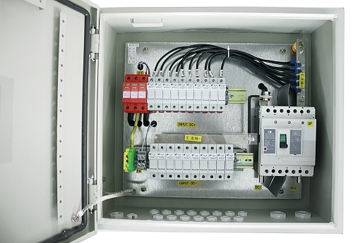 IP65 Solar 10 in 1 out PV Combiner Box