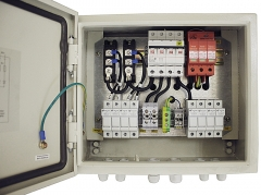 IP65 Solar 4 in 1 out PV Combiner Box