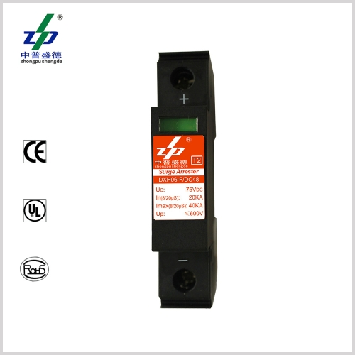 DC 48V 40kA 1P TUV Certified Surge Protection Device